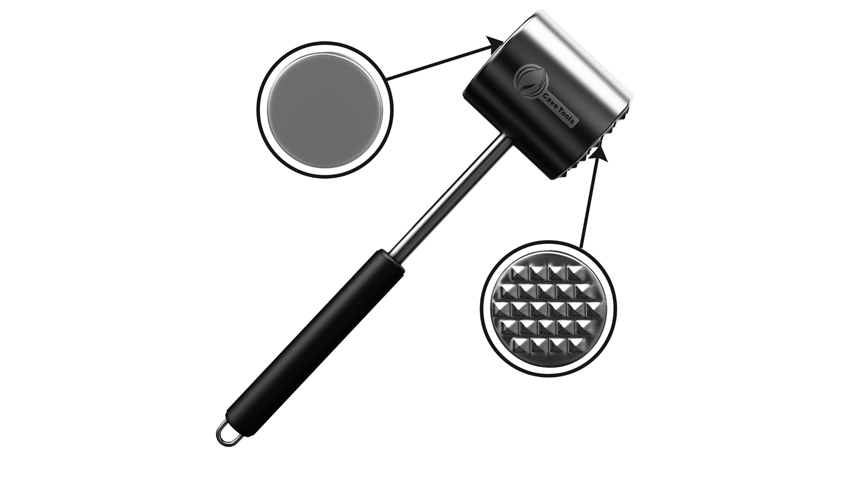 Cave Tools Meat Tenderizer Mallet