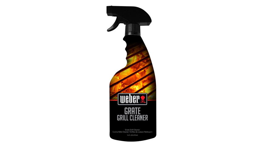 Weber Grill Spray Cleaner.